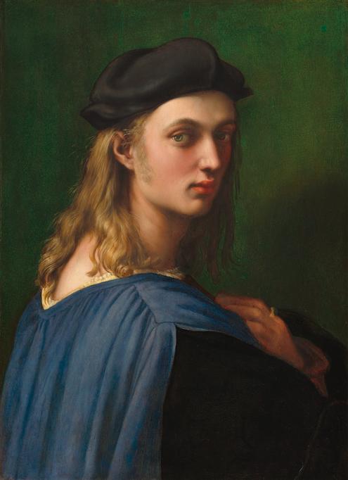 Raffael Porträt des Bindo Altoviti, ca. 1514-1515 National Gallery of Art, Washington