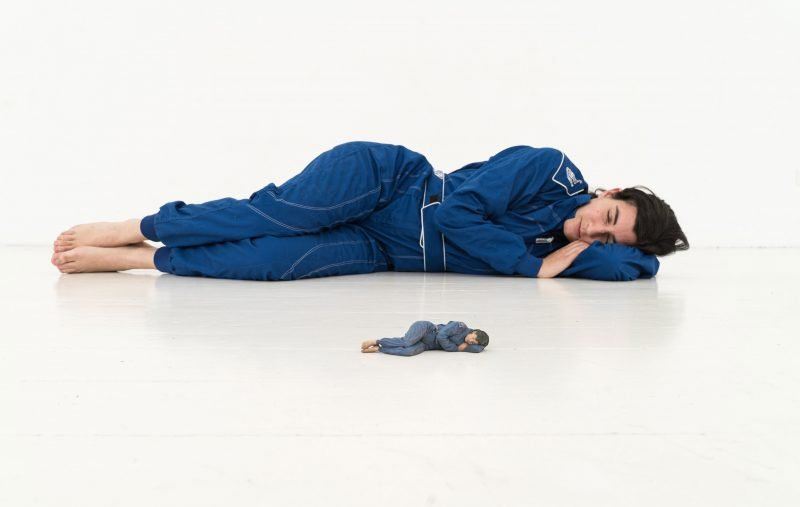 us der Serie Sleep Performances, © Anne Glassner, 2020